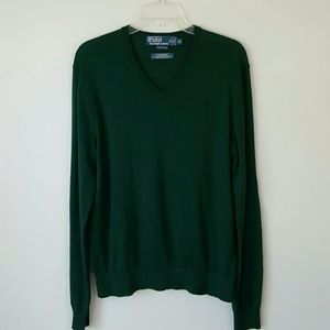POLO BY RALPH LAUREN Merino Wool Sweater- Large
